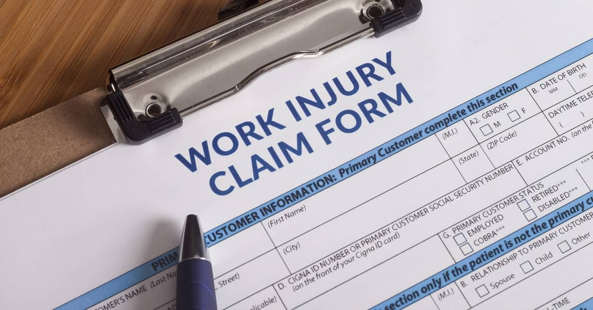 Filing a Claim for Workers' Comp Benefits